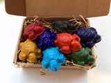 Mini Sea Turtles - All Natural Soy Crayons (set of eight)