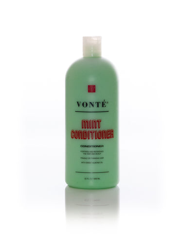 Vonté Mint Conditioner with Sweet Almond Oil 32oz