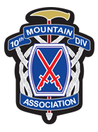 10th Mountain Association logo