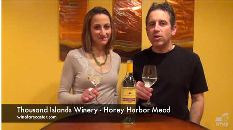 Image from Honey Harbor Mead review Video