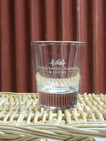 Photo of TIW Logo Shot Glass