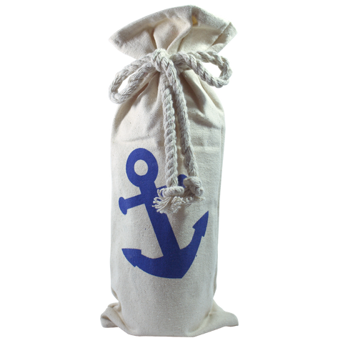 Twine Rustic Anchor Wine Bag