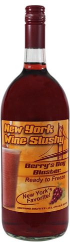 New York Wine Slushy® Berry's Bay Blaster®