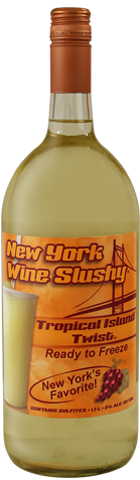 New York Wine Slushy® Tropical Island Twist®
