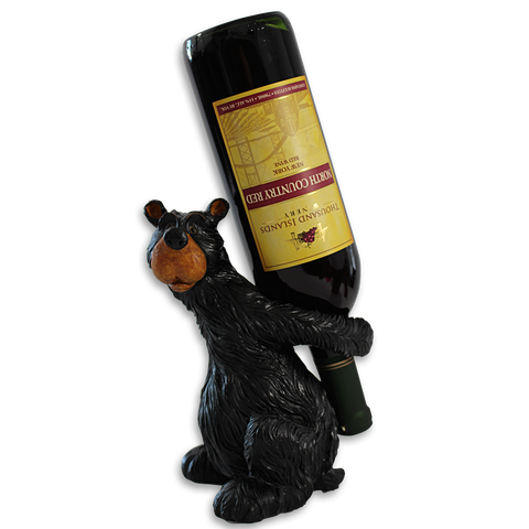 Winery Bear Bottle Holder