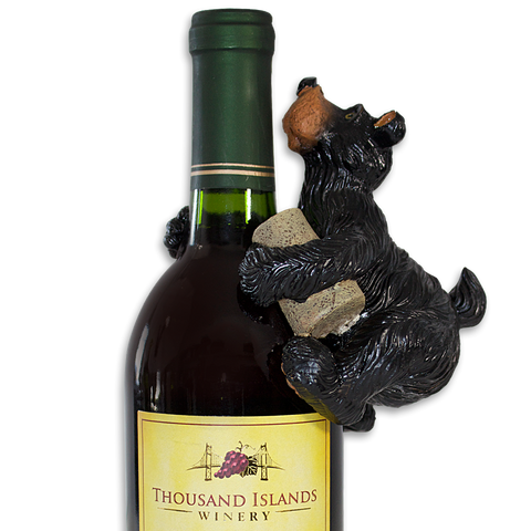 Winery Bear Bottle Hanger