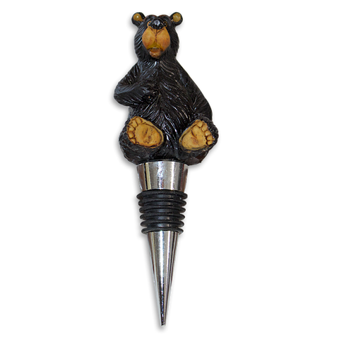 Winery Bear Bottle Stopper