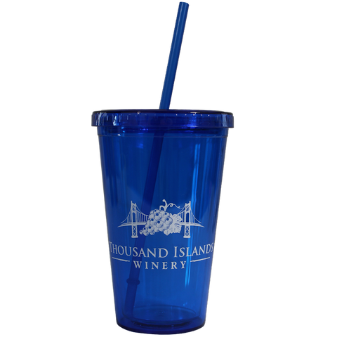 Photo of blue TIW Slushy Tumbler