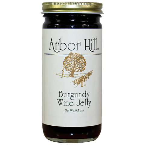 Photot of Arbor Hill Burgundy Wine Jelly