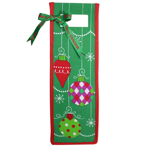 Cloth Holiday Wine Gift Bags
