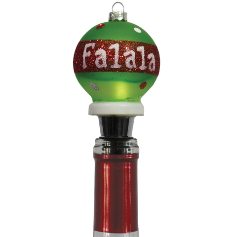Holiday Light-Up Bottle Stopper