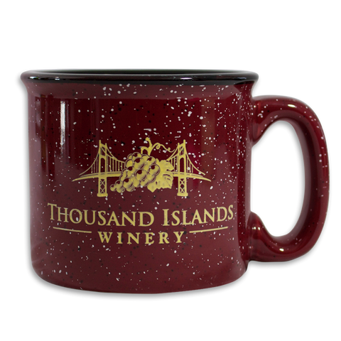 Photo of burgundy Thousand Islands Winery Ceramic Mug