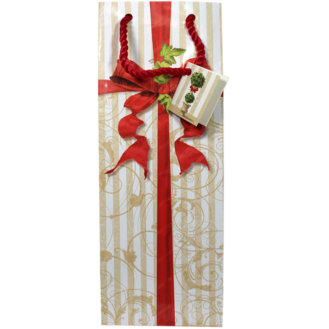 Holiday Wine Bottle Gift Bags