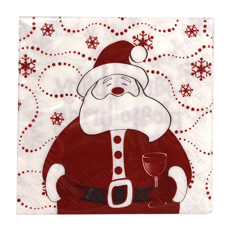 Santa Cocktail Napkins
