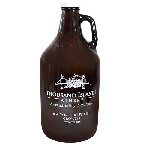 Photo of Beer Growler with TIW logo