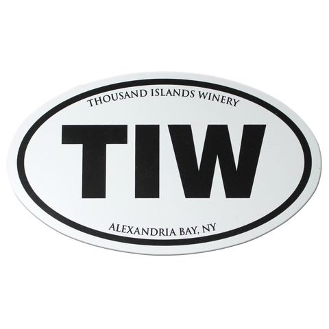 Thousand Islands Winery TIW Magnet