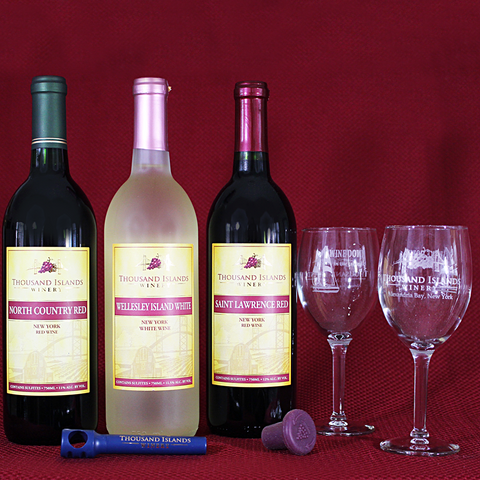 Photo of Thousand Islands Wine Trio set