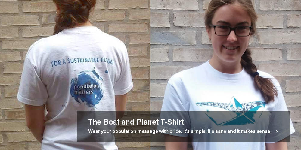 The Boat and Planet T-shirt