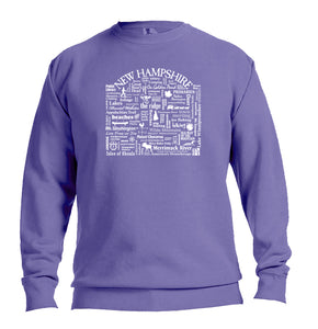 "WLTY ""New Hampshire"" Adult Crewneck Sweatshirt"