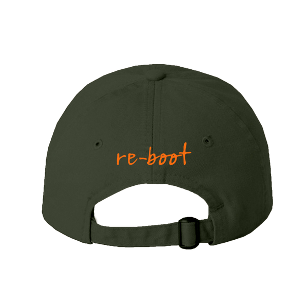 "WLTY Boot ""Re-boot"" Olive Cap"