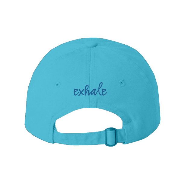"WLTY Whale ""Exhale"" Blue Cap"