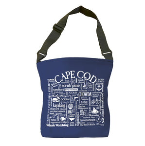 Cape Cod Tote Bag (Navy)