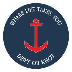 "WLTY Anchor ""Drift or Knot"" Decal"