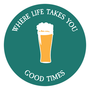"WLTY Beer ""Good Times"" Decal"