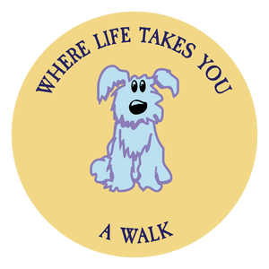 "WLTY Dog ""A Walk"" Decal"