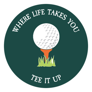 "WLTY Golf ""Tee it Up"" Decal"