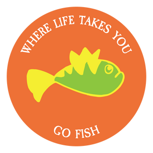 "WLTY Fish ""Go Fish"" Decal"