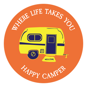 "WLTY RV ""Happy Camper"" Decal"