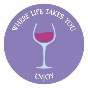 "WLTY Wine ""Enjoy"" Decal"