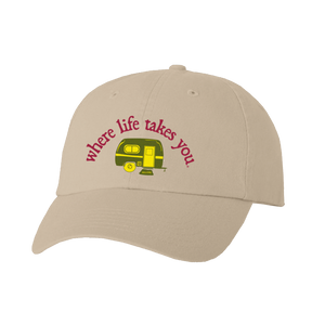 "WLTY RV ""Happy Camper"" Stone Cap"