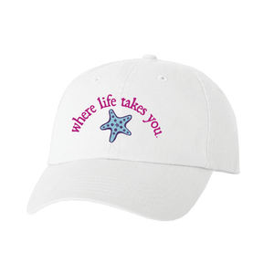 "WLTY Starfish ""The Beach"" White Cap"