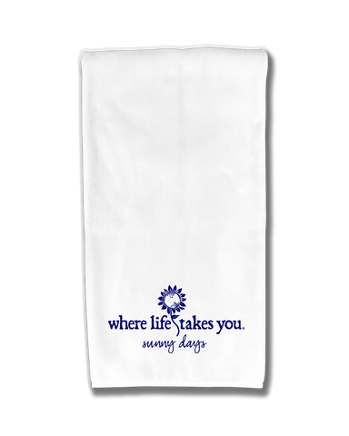 "WLTY Sunflower ""Sunny Days"" Flour Sack Kitchen Towel"