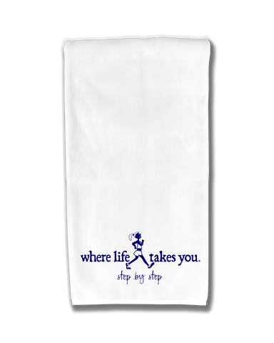 "WLTY Walker ""Step by Step"" Flour Sack Kitchen Towel"