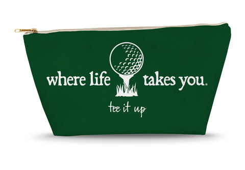 Tee It Up (Spruce) Large Accessory Bag