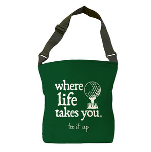 Tee It Up (Spruce) Tote Bag
