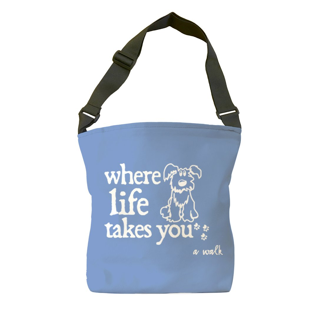 A Walk Tote Bag (Flo Blue)