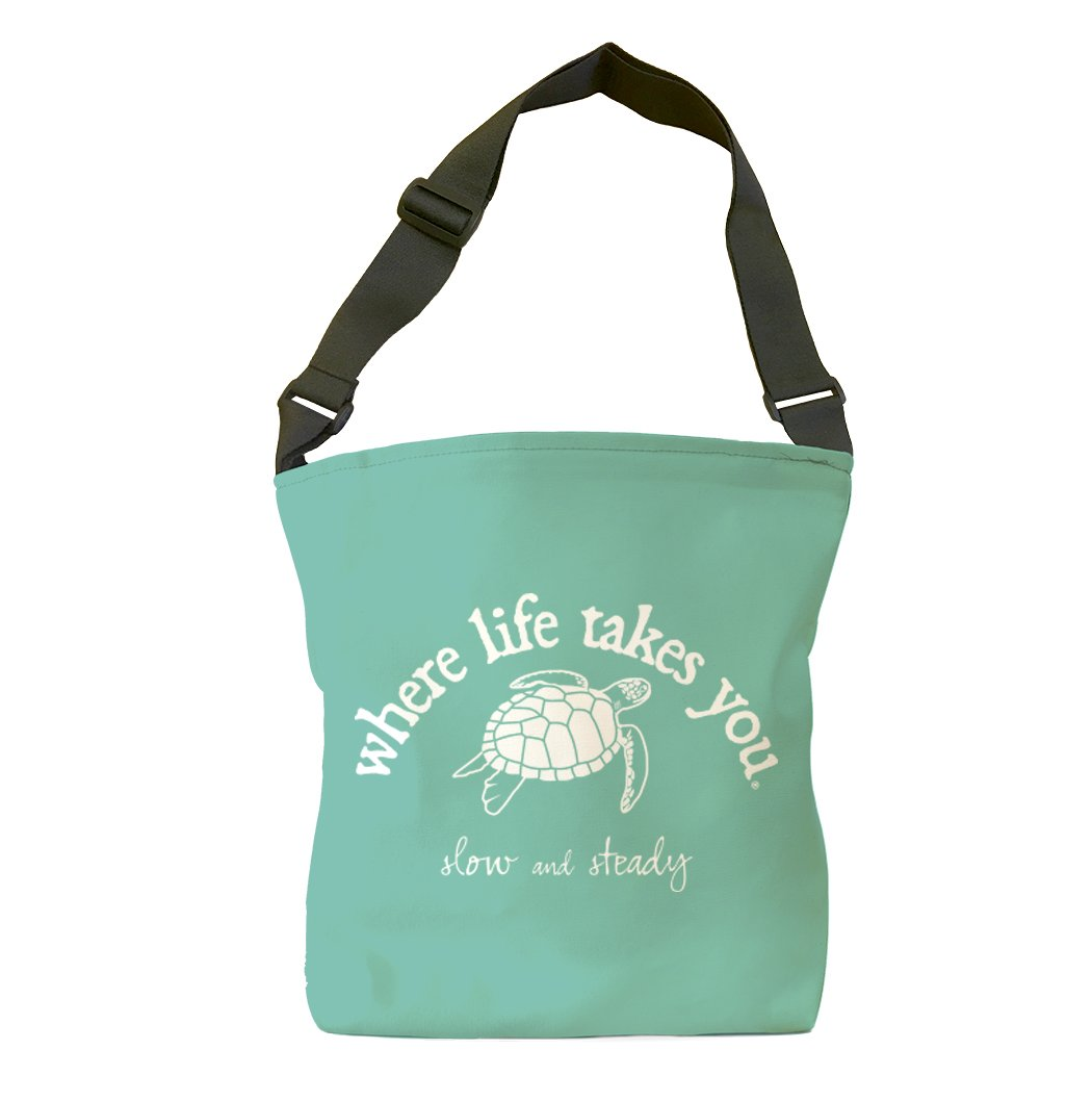 Slow and Steady (Chalky Mint) Tote Bag