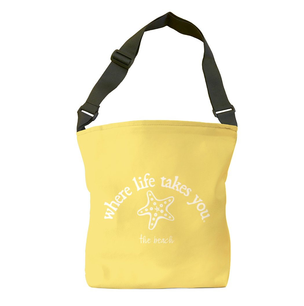 The Beach (Butter) Tote Bag
