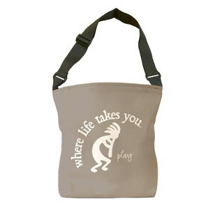 Play (Khaki) Tote Bag