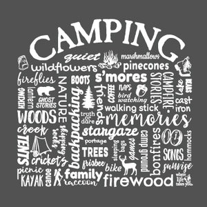 "WLTY ""Camping"" Adult Hooded Long Sleeve"