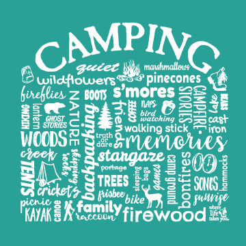 "WLTY ""Camping"" Ladies Short Sleeve T-Shirt"