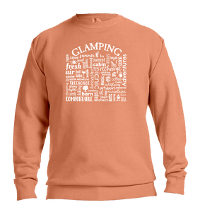 "WLTY ""Glamping"" Adult Crew Neck Sweatshirt"