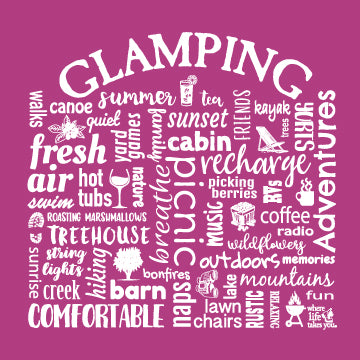 "WLTY ""Glamping"" Ladies Long Sleeve"