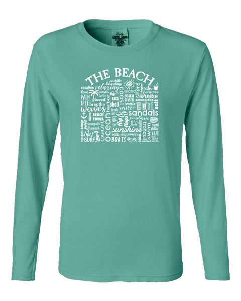 "WLTY ""The Beach"" Ladies Long Sleeve"