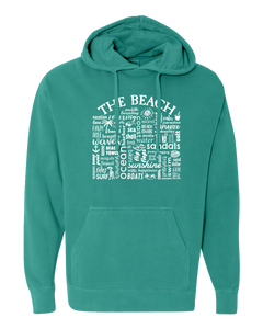 "WLTY ""The Beach"" Adult Hooded Sweatshirt"