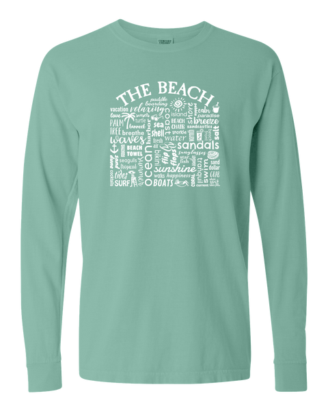 "WLTY ""The Beach"" Adult Long Sleeve T-Shirt"